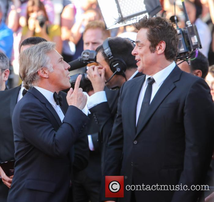 Christopher Waltz and Benicio Del Toro 4