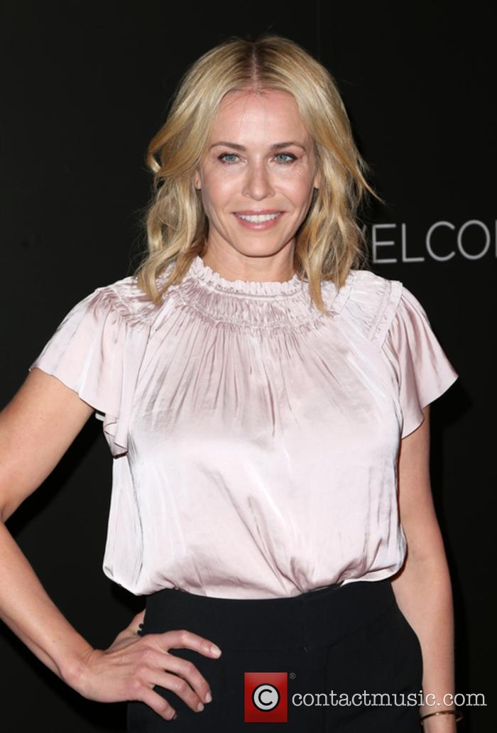 Chelsea Handler at a Netflix comedy event
