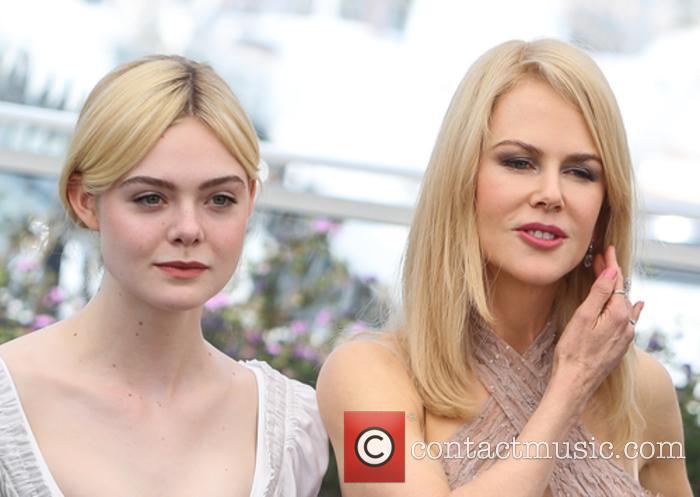 Elle Fanning and Nicole Kidman 2