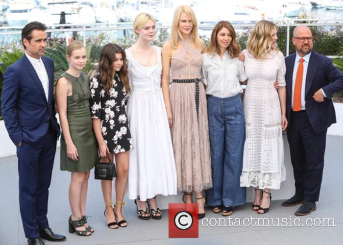 Colin Farrell, Angourie Rice, Addison Riecke, Elle Fanning, Nicole Kidman, Sofia Coppola and Kirsten Dunst 2