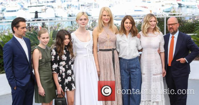 Colin Farrell, Angourie Rice, Addison Riecke, Elle Fanning, Nicole Kidman, Sofia Coppola and Kirsten Dunst 3