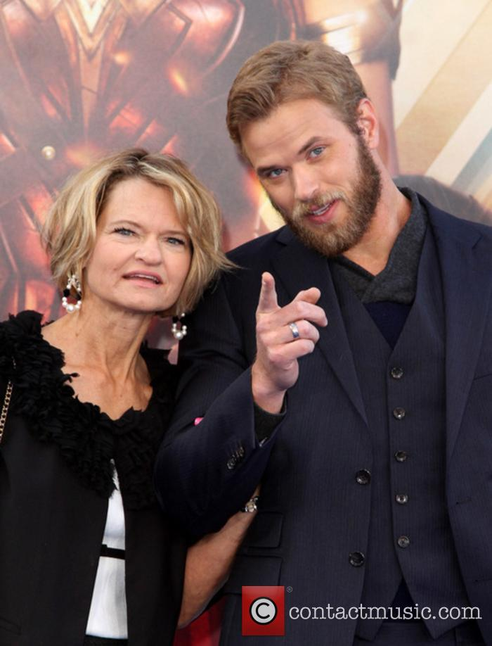 Kellan Lutz and Mother Karla Lutz