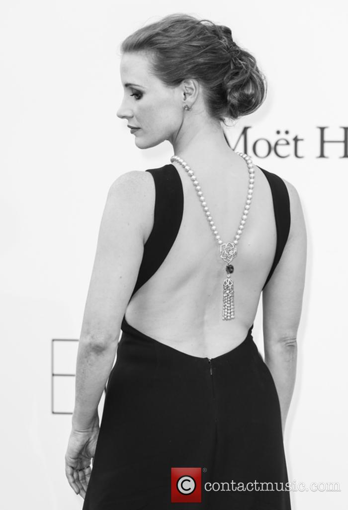 Jessica Chastain at Cannes Film Festival