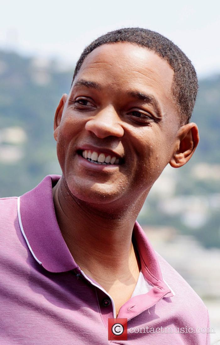 The rumours were true: Will Smith will play Genie