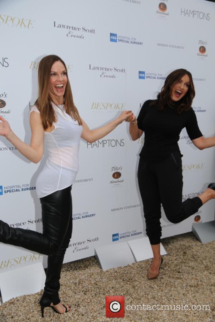 Hilary Swank and Mariska Hargitay