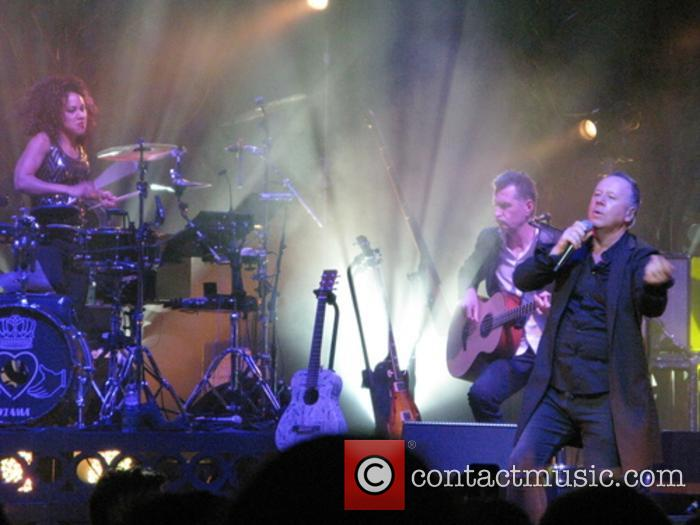 Cherisse Osei, Jim Kerr and Ged Grimes 2