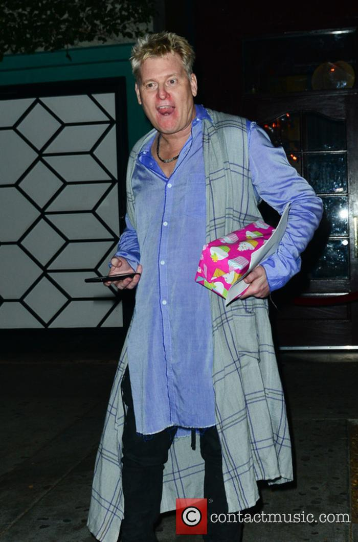 Joe Simpson out partying at Peppermint Night Club