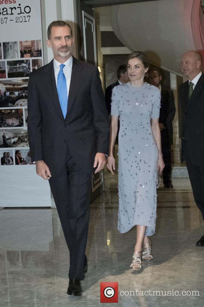 Spanish royals attend the 60th anniversary of Europa...