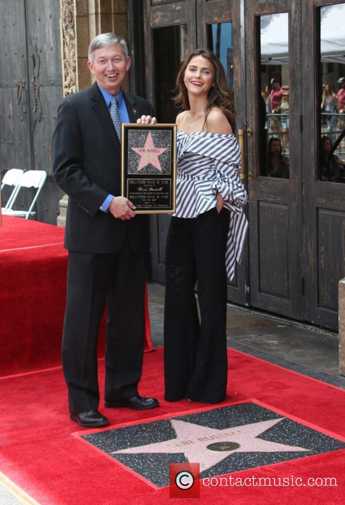 Keri Russell honoured with Star on the Hollywood...