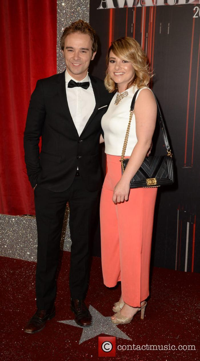 Jack P Shepherd and Lauren Shippey