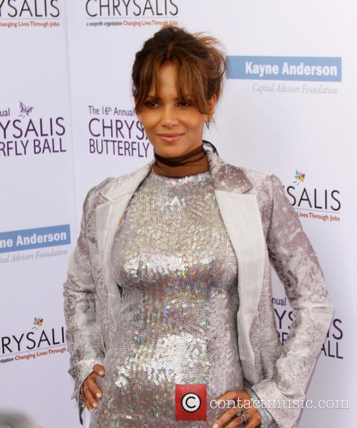 Halle Berry at the Chrysalis Butterfly Ball