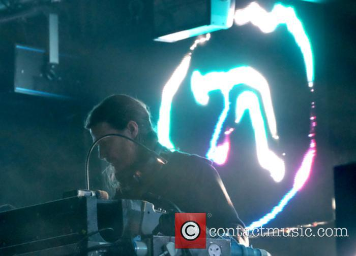 Aphex Twin performing at Field Day