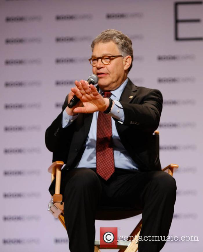Senator Al Franken at the 2017 BookCon