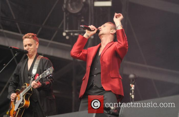 Depeche Mode performs at The London Stadium
