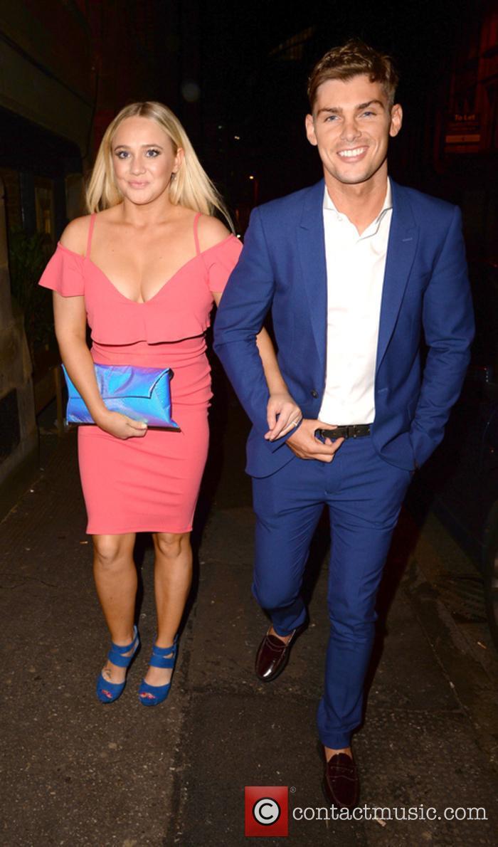 Kirsty Leigh Porter and Kieron Richardson