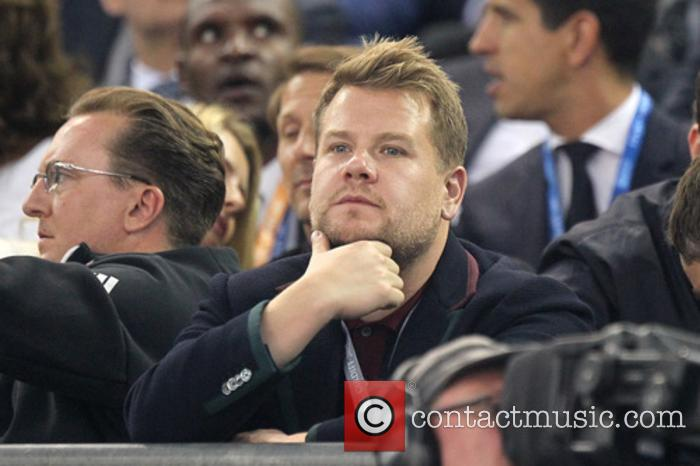 James Corden at the UEFA Champions League Final