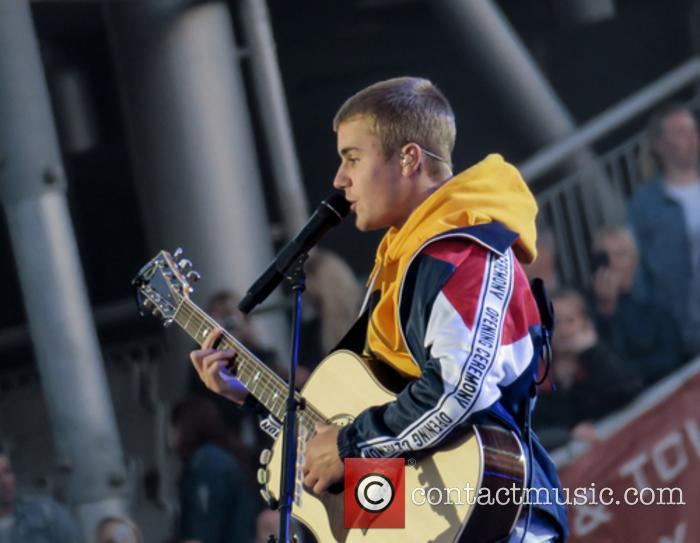 Justin Bieber felt fine at the One Love Manchester concert