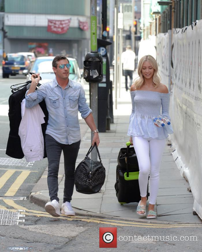 Dean Gaffney and Rebekah Ward