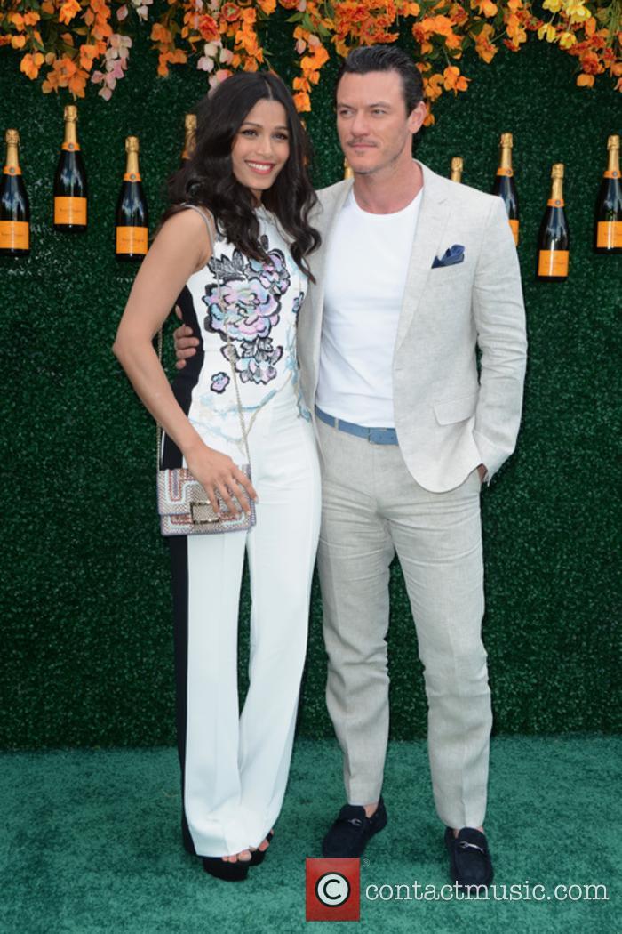 Freida Pinto and Luke Evans 3