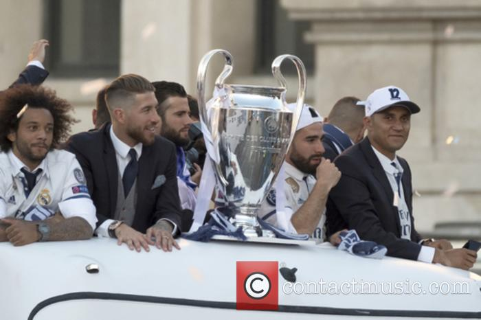 Real Madrid UEFA Champions League winners parade