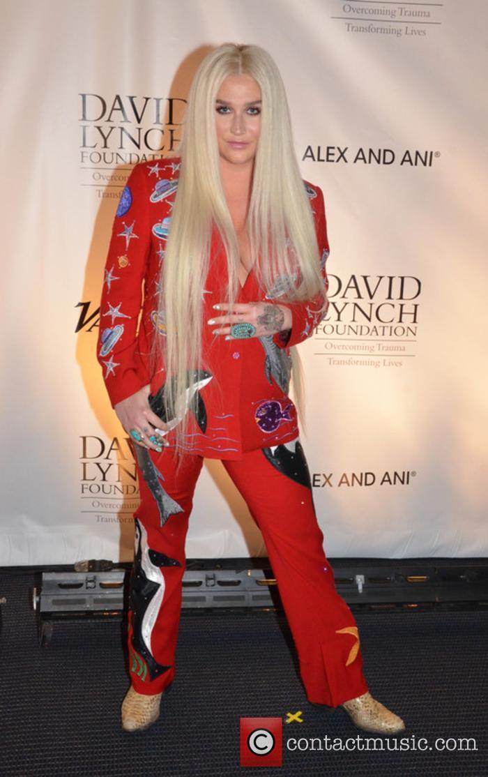 Kesha at the David Lynch Foundation Gala