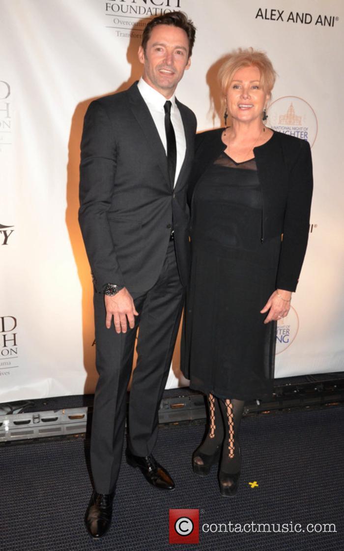 Hugh Jackman and Debora-lee Furness Jackman 1