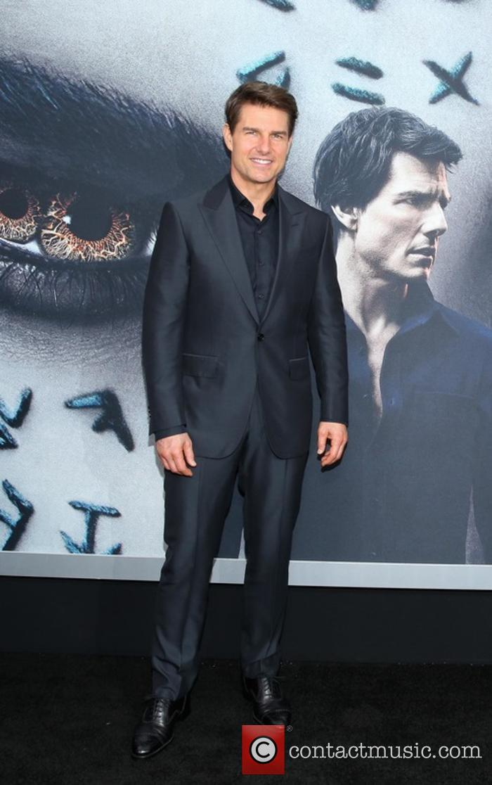 Tom Cruise at 'The Mummy' premiere