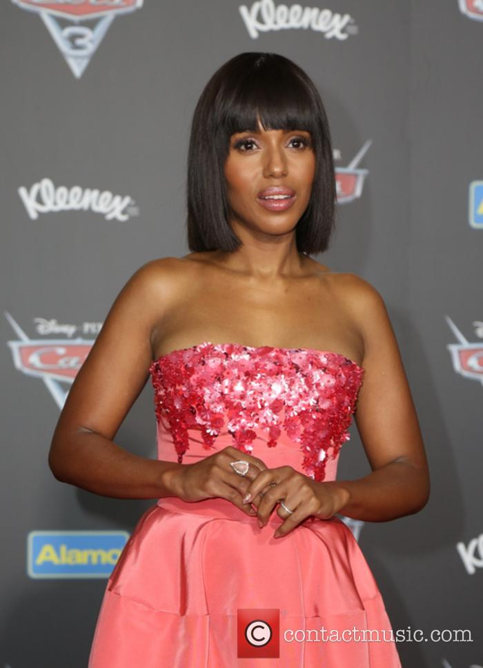 Kerry Washington at the premiere for Disney film 'Cars 3'
