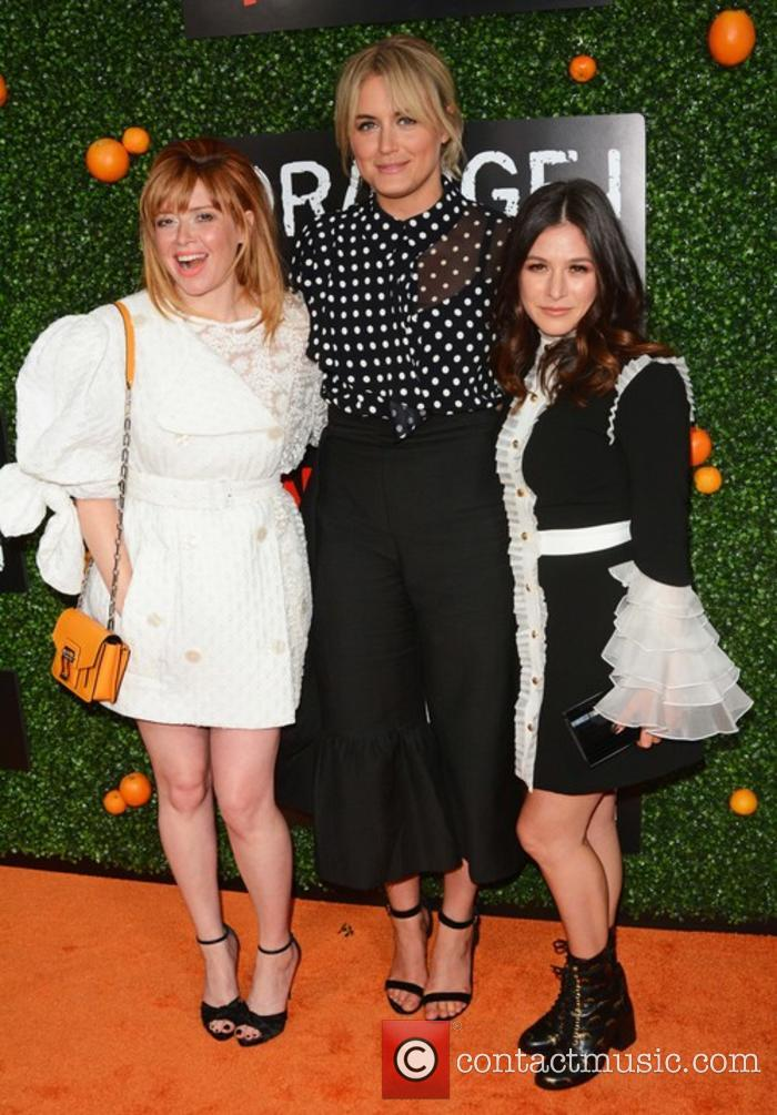 Natasha Lyonne, Taylor Schilling and Yael Stone