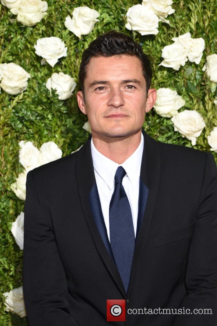 Orlando Bloom at the Tony Awards