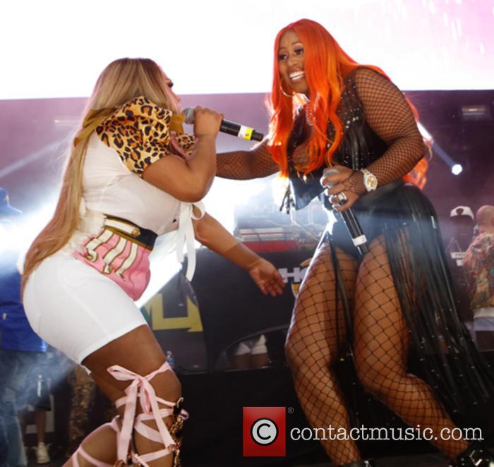 Lil Kim and Remy Ma 11