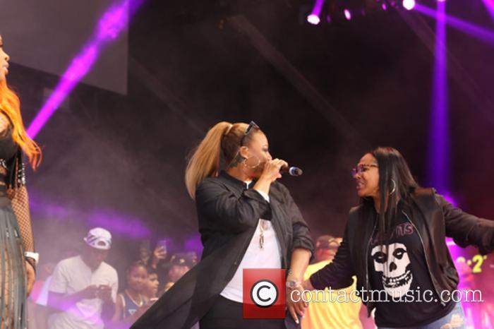 Queen Latifah and Moni Love 3
