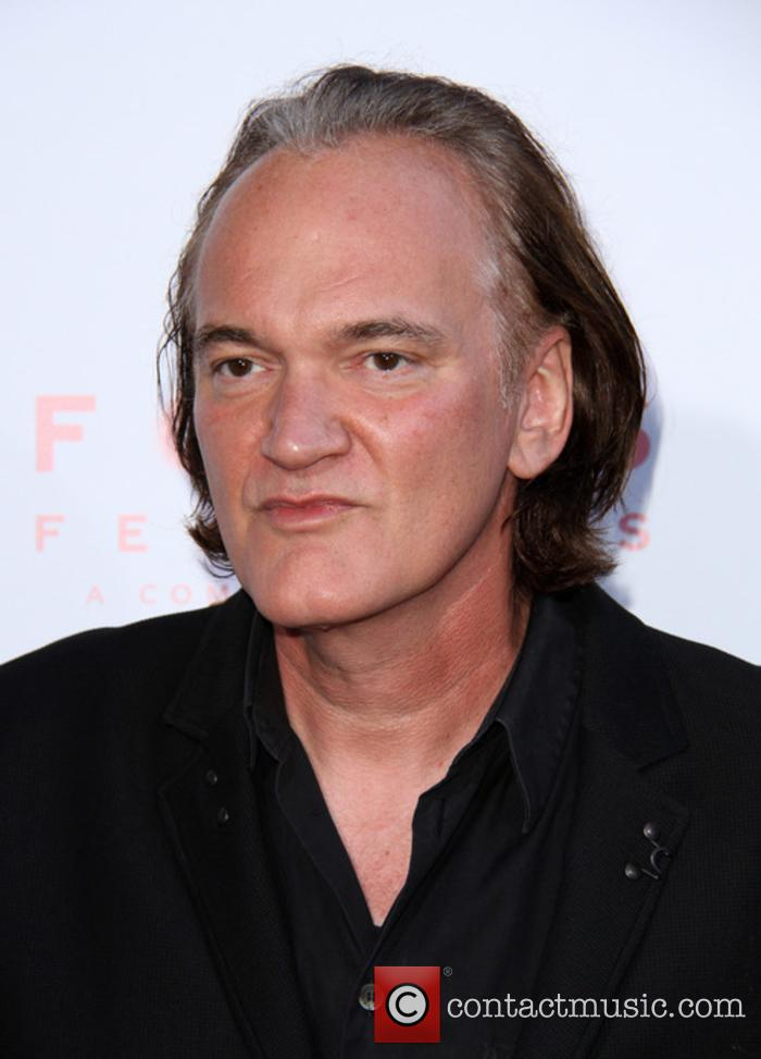 Quentin Tarantino at 'The Beguiled' premiere