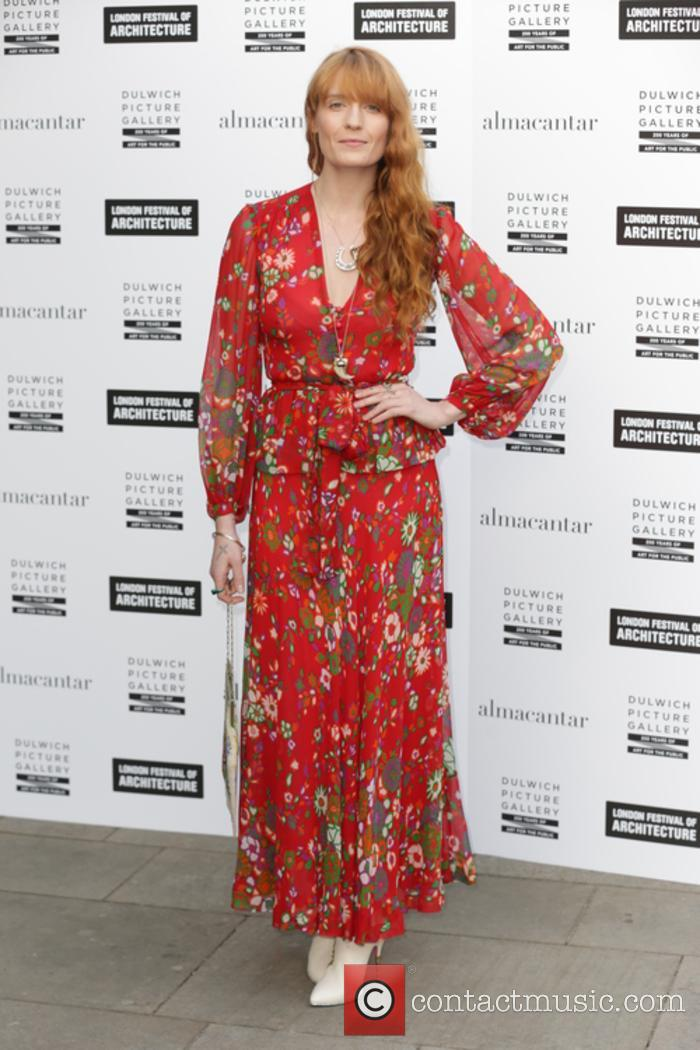 Florence Welch at the Dulwich Pavilion Summer Party