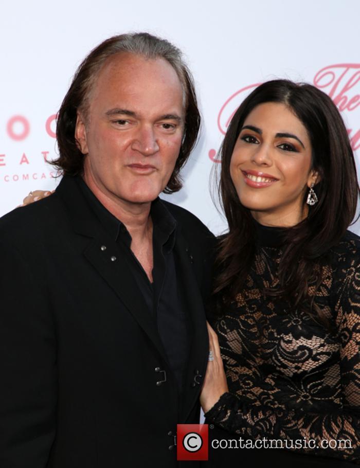 Quentin Tarantino and Daniela Pick 2