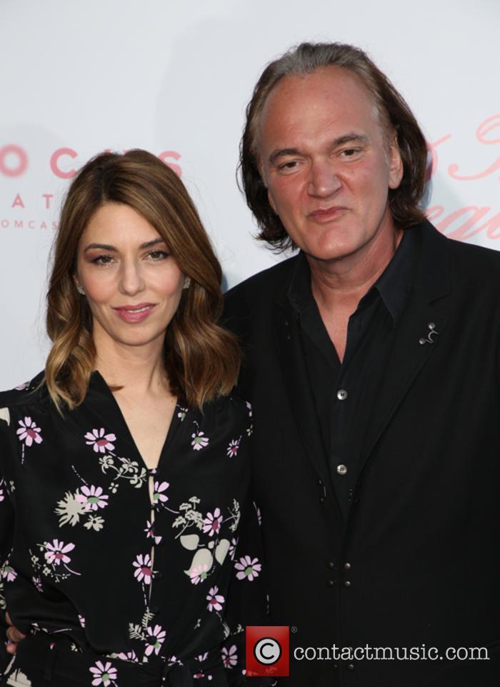 Sofia Coppola and Quentin Tarantino 10