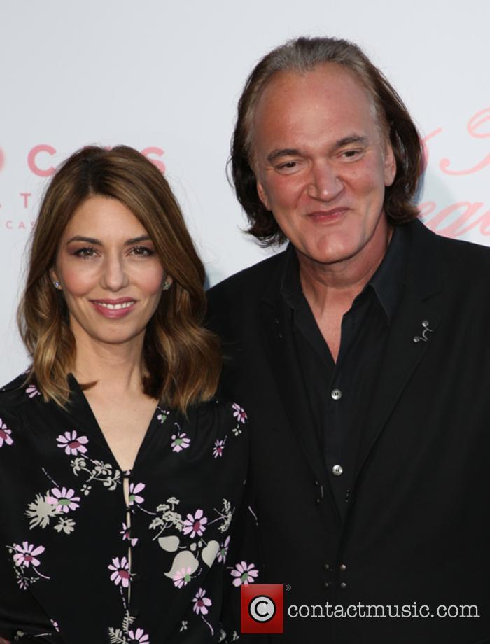 Sofia Coppola and Quentin Tarantino 11
