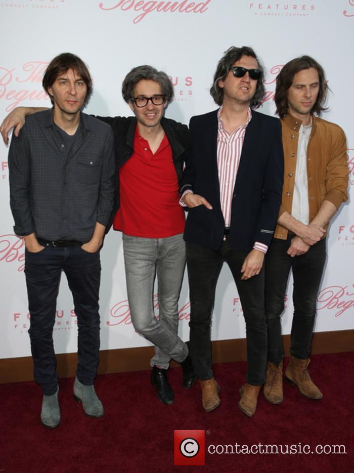 Phoenix, Thomas Mars, Laurent Brancowitz and Christian Mazzalai