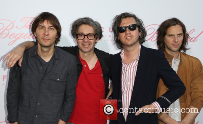 Phoenix, Thomas Mars, Laurent Brancowitz and Christian Mazzalai 5