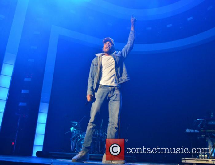 Chance The Rapper performing at American Airlines Arena