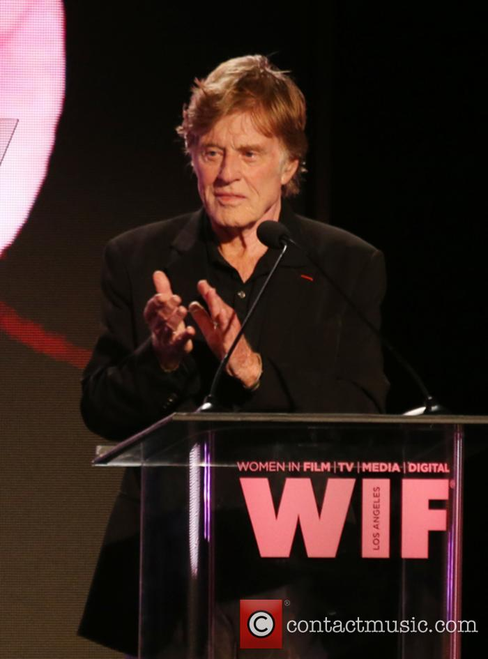 Robert Redford at the Women In Film Awards
