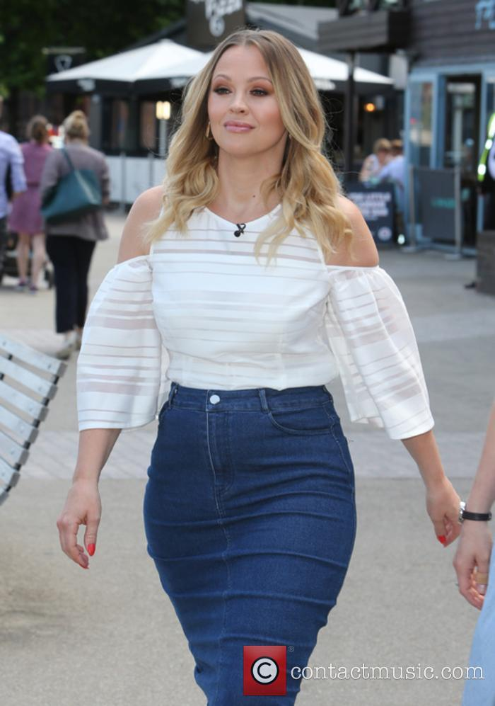 Kimberley Walsh at the ITV studios