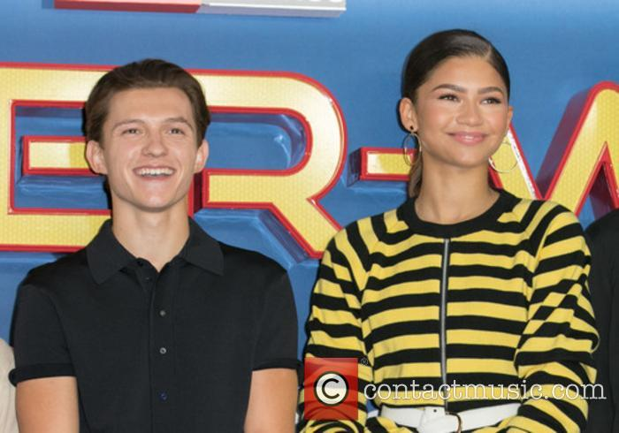 Tom Holland and Zendaya 9