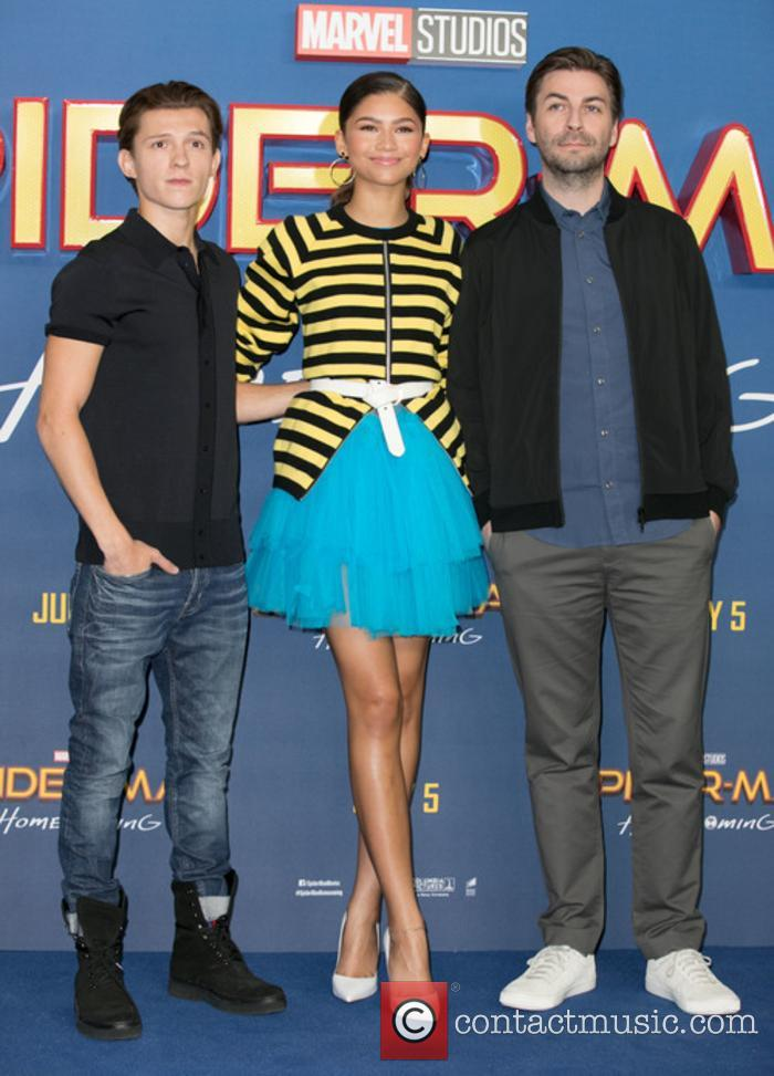 Tom Holland, Zendaya and Jon Watts 11