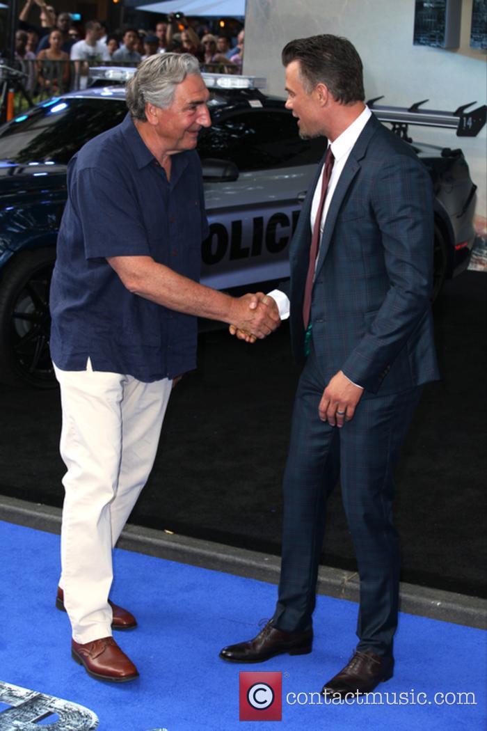 Josh Duhamel and Jim Carter