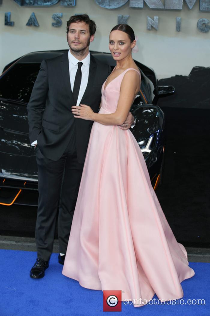 Laura Haddock and Sam Claflin 5
