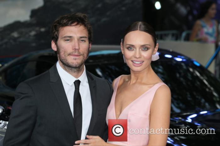 Laura Haddock and Sam Claflin 9