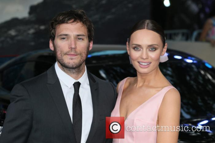 Laura Haddock and Sam Claflin 10