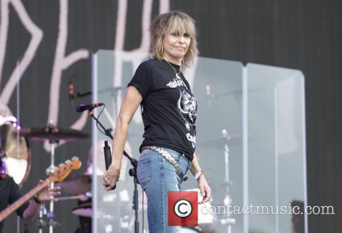 Chrissie Hyndes and The Pretenders 2