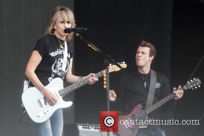 Chrissie Hyndes and The Pretenders 7